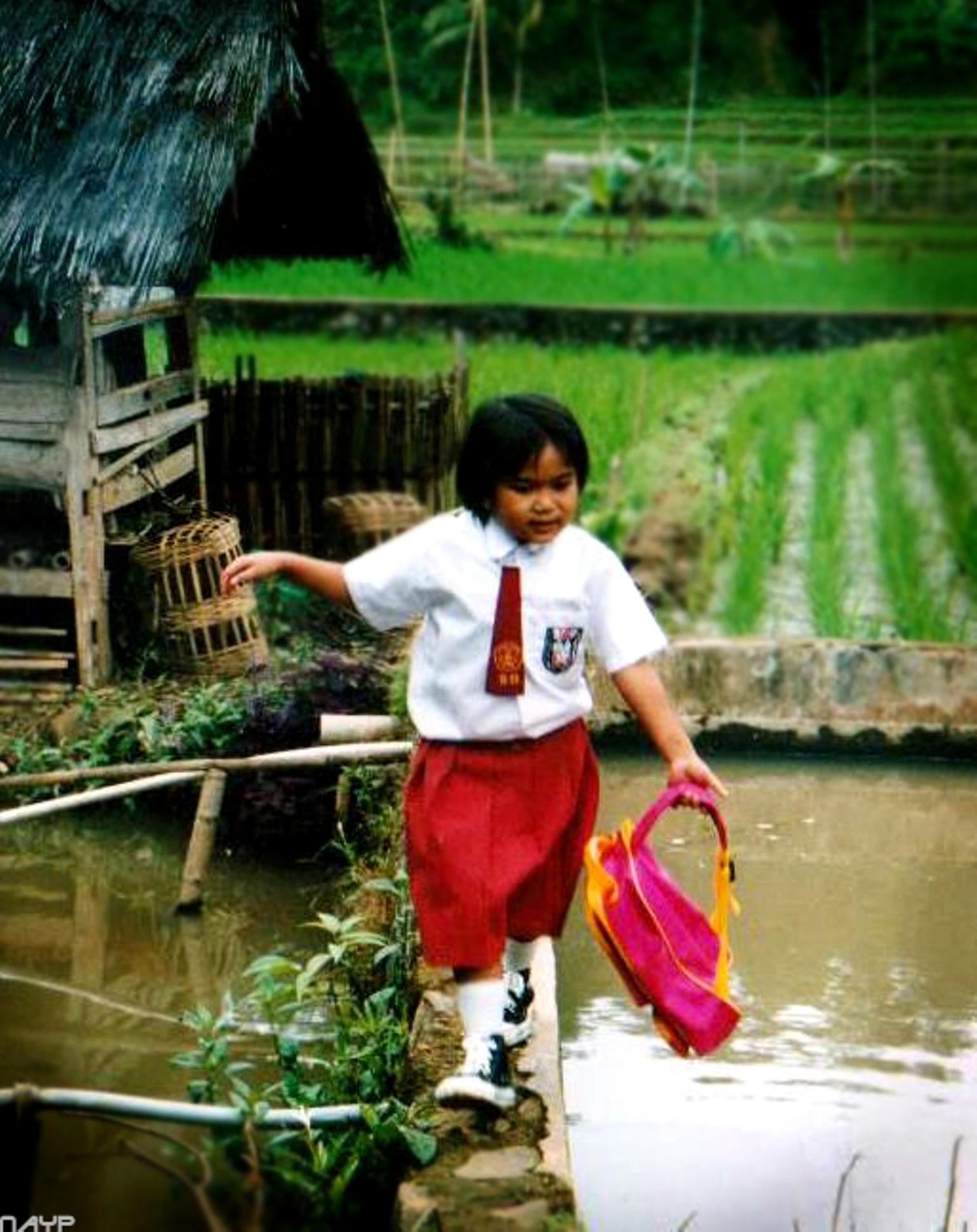 'Titaantje' op Java – opgroeien in Indonesië