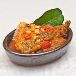 Indisch3 favo recepten 1 en 2: ikan b.b. en s.g. boontjes