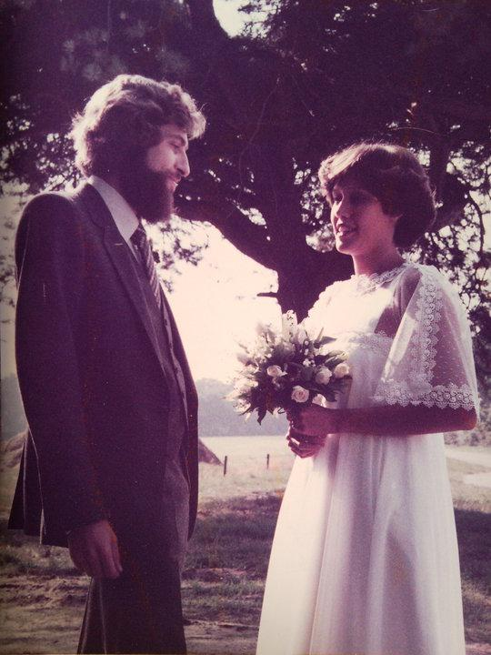 Bruiloft ouders Charlie