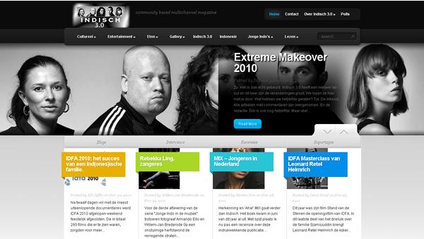 Extreme makeover website Indisch3 (c) Indisch3.0 2010