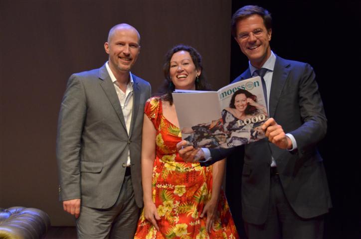 Geert, Marjolein en Mark Rutte Moesson 1000 © Armando Ello / Moesson