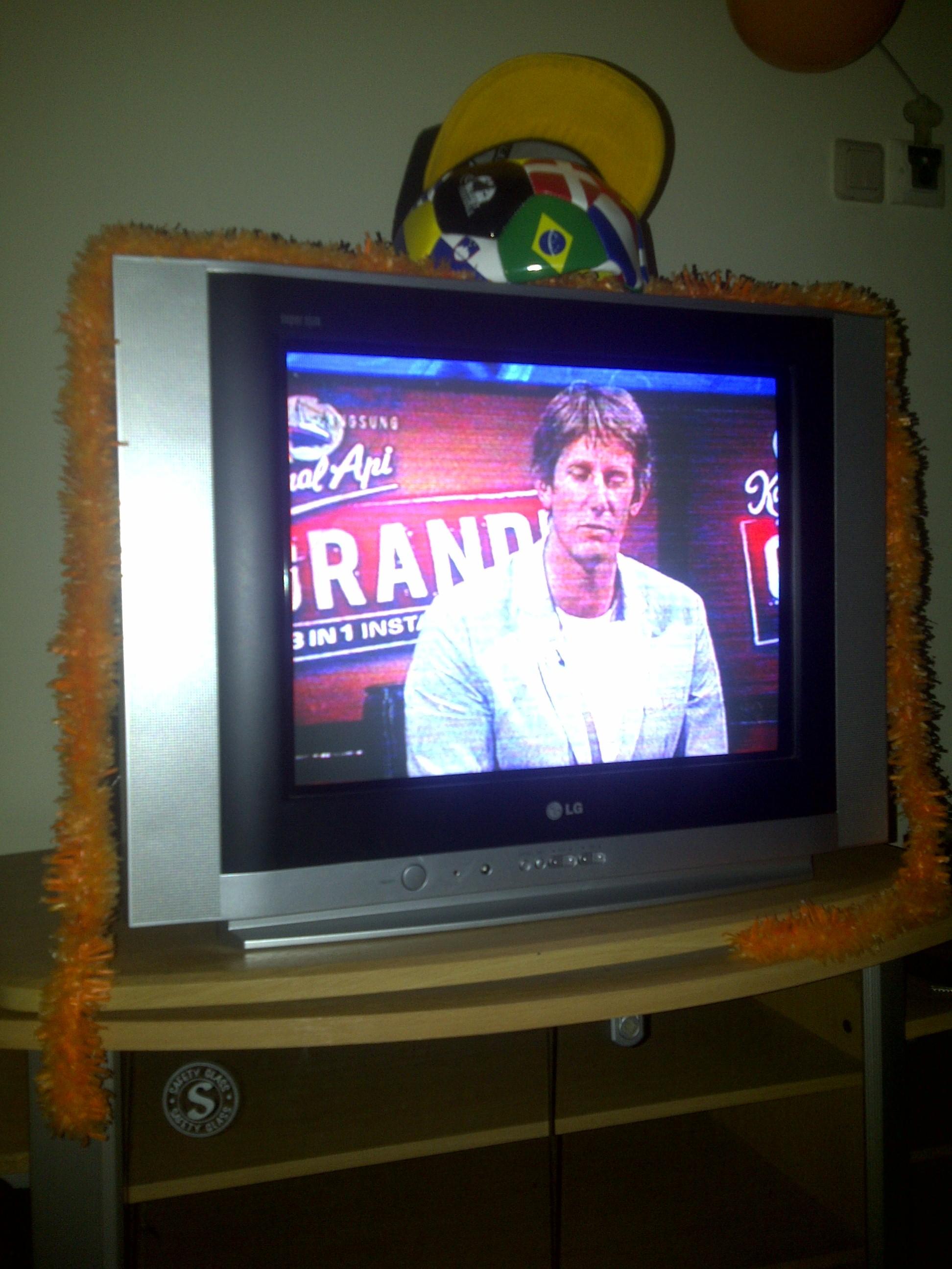 Edwin van der Sar over het verlies van Oranje.