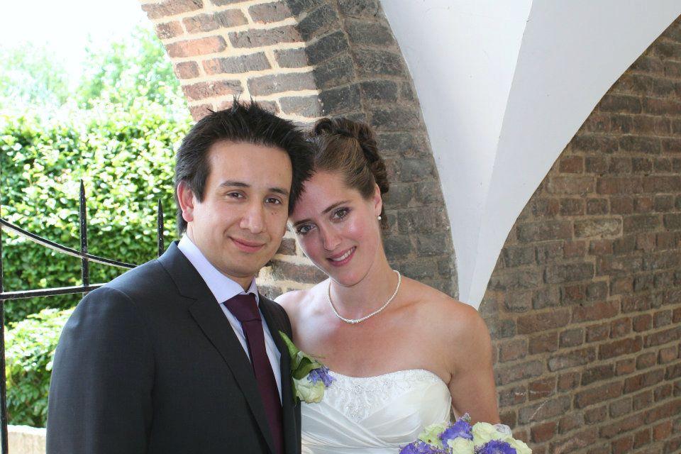 Dioni en Riemke trouwden een jaar geleden