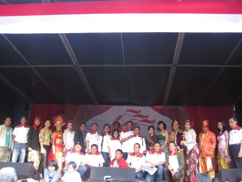 Afsluiting Pesta Rakyat– Foto: Charlene Vodegel /  Indisch 3.0 2012