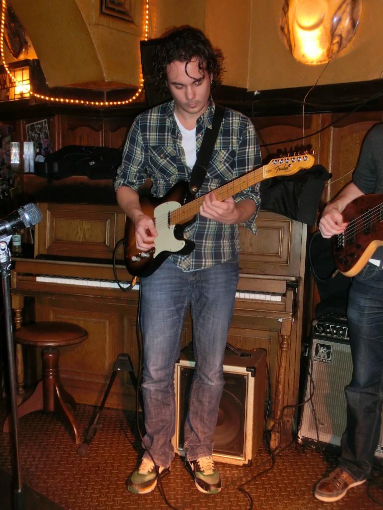 Rob Verbakel op het podium © Foto: eigendom Rob Verbakel