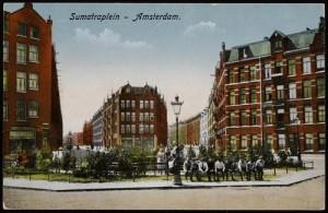 Sumatraplein Amsterdam - Bron: beeldbank.amsterdam.nl