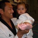 Een Indo en taekwondo