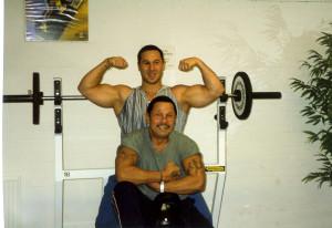 Vader en zoon  Foto: Timothy Bruininga