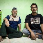 Achtergebleven Indo's in Yogyakartaanse kampong
