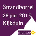Strandborrel Indisch 3.0 vrijdag 28 juni 2013