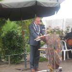De burgemeester spreekt