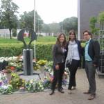 3.0's bij het monument in Breda