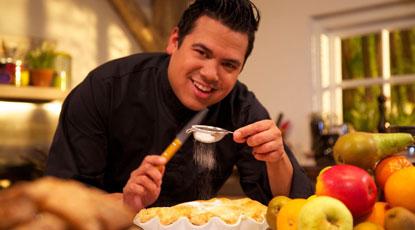 Dany Jansen. Foto: http://www.foodiesmagazine.nl/recepten/nagerechten/texas-style-applepie/11243/