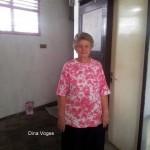 Dina Voges ontvangt steun van de stichting
