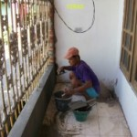 renovatie van kampung huisje