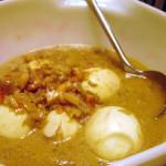 Indisch3 favo recept 7: sambal goreng telor