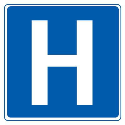 In(disch in) het ziekenhuis