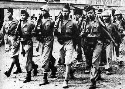 Indonesische vrijheidsvechters. Foto: http://hapsarie.files.wordpress.com