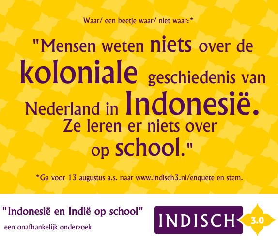 Wat heb jij over Indië en Indonesië geleerd op school?