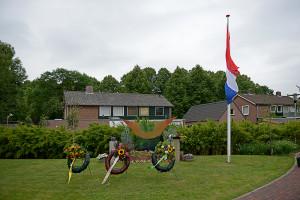 Het monument bij Rumah Kita in Wageningen. Foto: Tabitha Lemon/ Indisch 3.0 2013